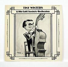 """TINY WINTERS & His Cafe Society Orchestra"""" 12"" ZODIAC ZR-1018 [Stereo LP]"