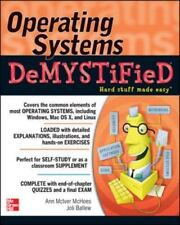 Operating Systems DeMYSTiFieD McIver McHoes, Ann Very Good Condition