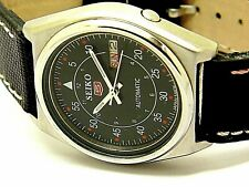 vintage seiko machanical  refurbished watch good looking