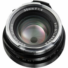 NEW Voigtlander Nokton Classic 35mm f/1.4 MC Lens Leica M Mount BA243B USA