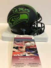 DK METCALF AUTOGRAPHED SIGNED SEATTLE SEAHAWKS ECLIPSE MINI HELMET JSA COA