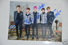 Led Apple 레드애플 15x20cm  Picture 5 x  Autogramm / Autograph Signed in Person .