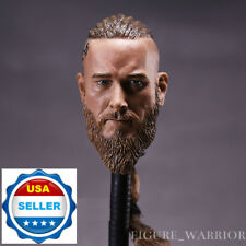 "1/6 Viking Captain Head Sculpt For For 12"" Headplay Hot Toys Male Figure ❶USA❶"