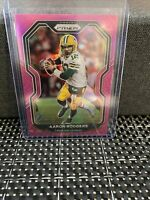 2020 Panini Prizm Football Pink Aaron Rodgers #206 Green Bay Packers PSA BGS SSP