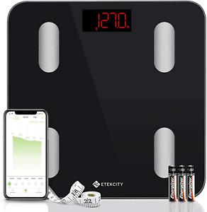 Etekcity Digital Body Weight Scale, Smart Bluetooth Body Fat BMI Scale
