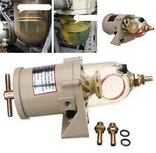 1pcs 60 GPH (227 LPH) Diesel Marine Boat Fuel Filter Water Separator