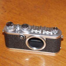 Leica If Red Dial 35mm film camera 807535 CHROME Leitz WETZLAR GERMANY 1956
