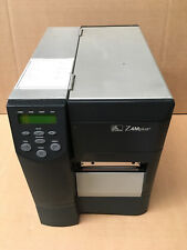 Zebra Z4M Plus Paralelo Serial Impresora De Código De Barras etiqueta térmica directa + Garantía