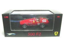 FERRARI 500 f2 A. Ascari no. 102 formula 1 1952