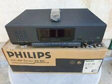 Philips CD 931 Noir Lecteur CD ORIGINAL Remote boîte d'origine état neuf