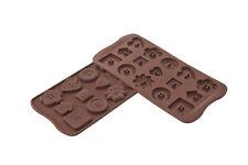 Stampo silicone Silikomart easychoc buttons bottoni cioccolatini SCG29 - Rotex