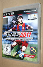 PES Pro Evolution Soccer 2011 Sony PlayStation 3 PS3