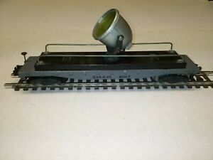C-6 S scale American Flyer #934 C&NW floodlight car tested, works good #07