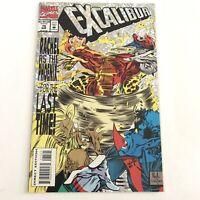 Excalibur 75 NM Marvel Comics 1994 Foil Cover Apocalypse Wolverine Phoenix