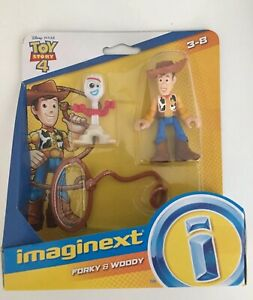 Imaginext Disney Pixar Toy Story 4 - Forky & Woody. NEW