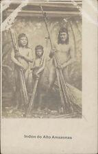 BRAZIL INDIOS DO ALTO AMAZONAS  REAL PHOTO