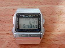 Vintage Casio Watch Data Bank 50 DB-520 Perfect Working Order