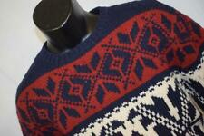 1142 New Mens American Eagle 100% Lambs Wool Cable Knit Sweater Sz Small