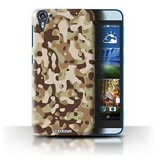 STUFF4 Back Case/Cover/Skin for HTC Desire 826/Camouflage Army Navy