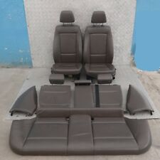 BMW 1 Series 1 E87 Havanna Brown Leather Interior Seats Airbag and Door Cards