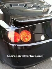 GTR Tail Light Overlays GLOSS BLACK Vinyl Film 3 Hole For: 03-05 INFINITI G35