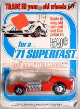 """Matchbox Superfast 19B Road Dragster rare """"Trade In..."""" Blisterkarte"""