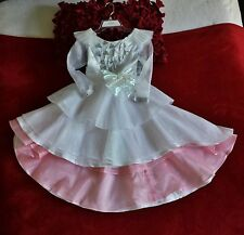 Oz the Great and Powerful GLINDA COSTUME PRINCESS DRESS Size 4 Princess Costume