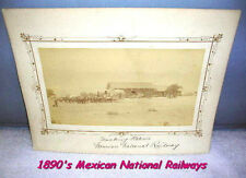 1890 Cabinet Photo 0f  Mexican National Railway