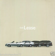 SAAB  LEASE Catalogue commercial