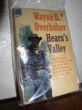 Hearn's Valley by Wayne D. Overholser (Dell D400,1'st Prnt,Jan 1961,PB)