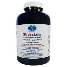 StressLess, 11 Kräuter Anti-Stress-Komplex, 360 Pulver-Kapseln a 350mg, #25813