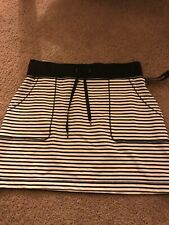 Ideology Heathered  Striped Skirt S