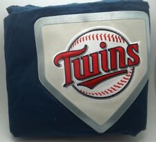 Pottery Barn Teen Baseball NLB Minnesota Twins Navy Twin Duvet Cover #354