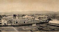 """1909 Coalinga CA Vintage Panoramic Photograph 42"""" Long"""