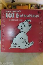 Walt Disney 101 Dalmatians Record Album   DQ-1308 Disneyland Records