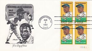 ~U.S. First Day Cover 1982 Honoring Jackie Robinson  #2016 - Artmaster~