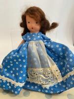 NASB Nancy Ann Storybook Bisque Doll 152 Mary Had Little Lamb Fairyland Orig Box