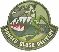 DANGER CLOSE DELIVERY PINUP A-10 PILOT US ARMY MORALE ARID HOOK & LOOP PATCH
