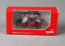 Herpa 158206 (h0, 1:87) - hamm tandemwalze dv90 rojo-productos nuevos!