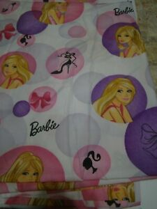 Barbie Doll Full Size Sheet Set with 2 Pillowcases