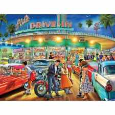 American Drive-In 1000 Piece Jigsaw Puzzle