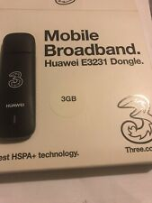 More details for huawei e3231dongle - 3 mobile broadband
