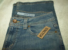 """NWT DKNY """"Easy Street"""" Jeans Slight Low Rise Fit,Boot Cut,Stretch,Med.Wash Sz 8S"""