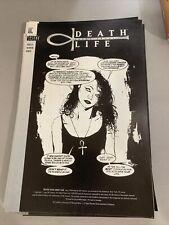 1994 Death Talks About Life #1 Nm Hiv Aids Awarness Promo Neil Gaiman Dc Vertigo