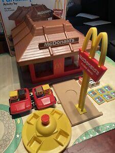 Vintage McDonalds Play Set Playskool Familiar Places #430 w/ Box 1974