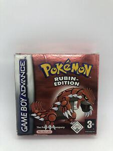 Pokemon Rubin-Edition Gameboy Advance OVP