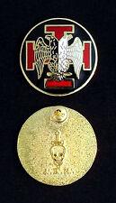 Masonic Scottish Rite 30th Degree Lapel Pin - Version 2 (30-LP-2)