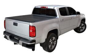 Access LOMAX B1050019 Hard Tri-Fold Tonneau Cover Fits 16+ Tacoma 5ft Bed