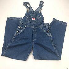Vintage Revolt Bib Denim Overalls Women's Medium Blue Pockets Carpenter Cotton