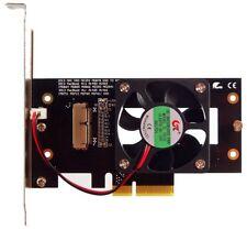 Macbook Pro + air SSD 2013-2015 a PCIe adaptador 4x. enfriamiento activo. id19331